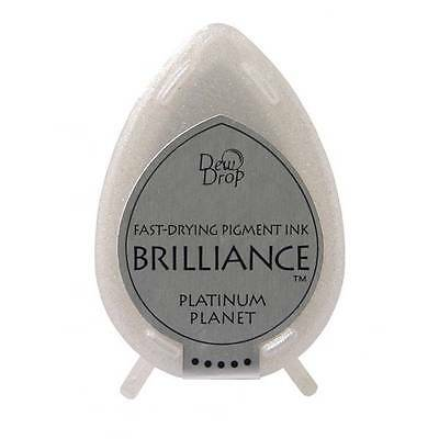 Brilliance fast drying pigment Ink - Platinum planet