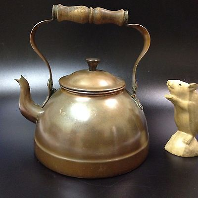 Vintage Copper Kettle - Tin Lined - Made in Portugal - Great Condition