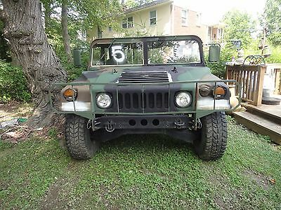 1992 Hummer H1  Rare Military Model Camo H1 HUMMER!!  Low Mileage, Low price & Runs Great...