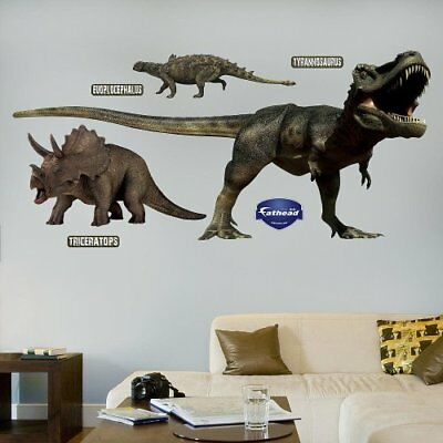 Fathead Dinosaurs Group Two Wall Graphic