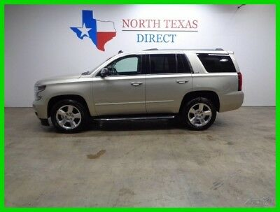 2015 Chevrolet Tahoe LTZ 4WD GPS Navi Camera Heat Cool Seats Texas 2015 LTZ 4WD GPS Navi Camera Heat Cool Seats Texas Used 5.3L V8 16V Automatic