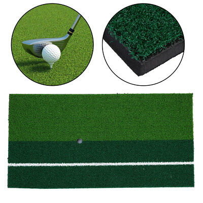 "12""x24"" Golf Zone Hitting Golfing Mat Rug Floor Indoor Putting Practice"