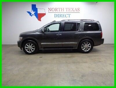 2008 Infiniti QX56 GPS Navi Camera Leather Heated Seats Sunroof New T 2008 GPS Navi Camera Leather Heated Seats Sunroof New T Used 5.6L V8 32V SUV