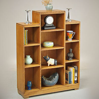 Shelves - Art Deco, Solid Oak, 1930s (delivery available)