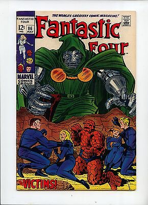 Fantastic Four #86 VF- 7.5 Doctor Doom Appearance Jack Kirby cover and art