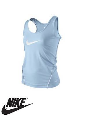 Authentic NIKE Girl's Junior Dri-FIT Active Vest Tank Top