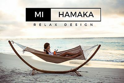 Hamaca de Lujo XXL. Madera. 4 Modelos. Luxury Hammock. Wood. 4 Styles Available