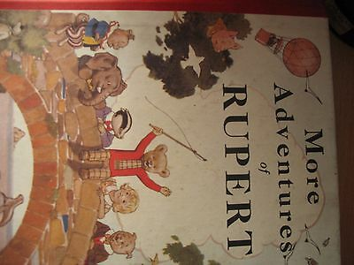 More Adventures Of Rubert numbered edition