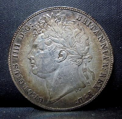 1821 Great Britain 1/2 Crown ✪ Vf Very Fine ✪ England Details Half ◢Trusted◣