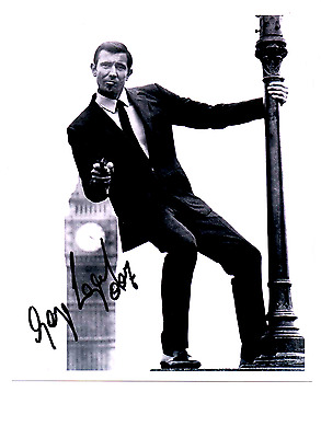 George Lazenby James Bond 007 Autograph