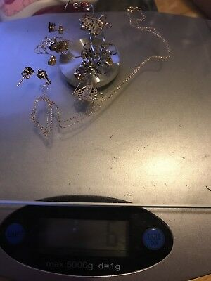Mixed Lot 14k /10k  Gold Jewelry Scrap And Not 6 G