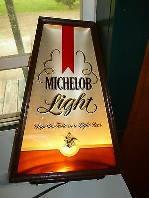 Vintage Michelob Light Bar Light