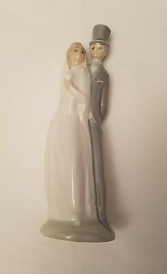 NAO By LLADRO Figurine Wedding Couple Cake Topper 6""