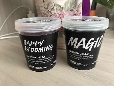 Lush Shower Jellies: Magic And Happy Blooming Rare