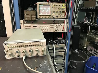 HP Agilent 3312A 0.1Hz to 13MHz Function Generator TESTED
