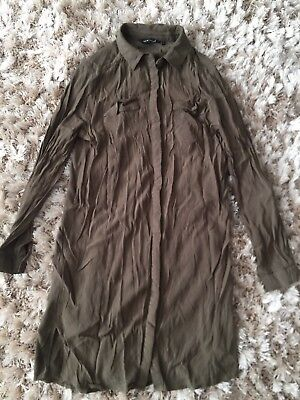 New Look Shirt Dress Size 8