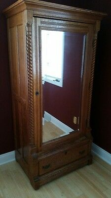 antique quartersawn oak furniture - 4 pieces