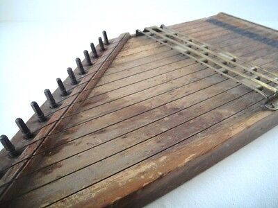 Antique Phono Harp ~ Dated 1891  ~ 126 years old!