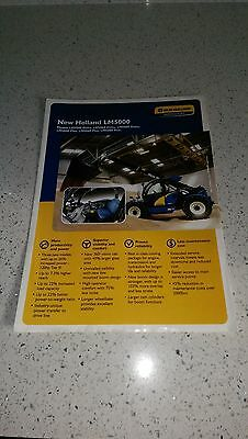 Ford New Holland LM 5040 5060 5080 handler brochure LM5000 series