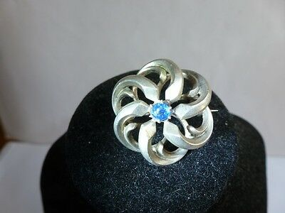 Beautiful  vintage brooch  silver 800,