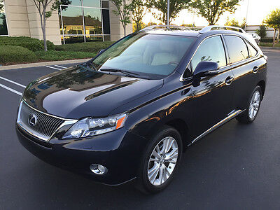 2010 Lexus RX 450h AWD Sport Utility 4-Door 2010 LEXUS RX 450h AWD, ONLY 55K MI, NAVIGATION, HEATED & COOLED SEATS!