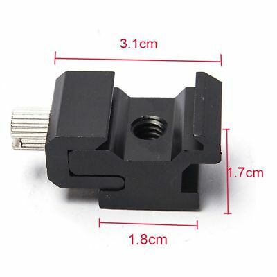 Tripod Adapter Seat Bracket Cold Shoe 1/4 Hexagonal Screw Hot Shoe Flash Mount