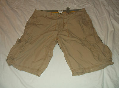 Men's GAP Loose Fit Cargo Shorts Sz Medium M 100% Cotton