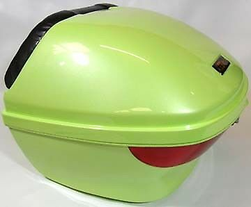 Lime Green, Luggage Box, Top Box for Scooter / Motorcycle, 815102