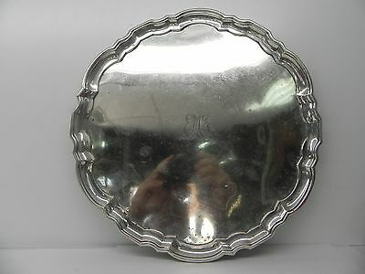 Antique Tiffany & Co Sterling 925 Silver 12 Inch Tray #21742