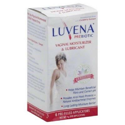 Luvena Restorative Vaginal Moisturizer Applicator, 6ct, 6 Pack 899655002114A1351