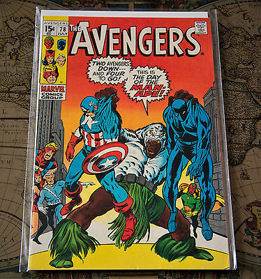 The Avengers #78 Marvel Comics Group Bronze Age First App Lethal Legion VF / NM