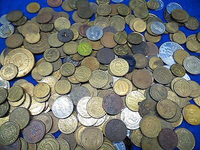 285 Mixed Lot Tokens Wash Arcade Business Coins Storage Estate Find Casino Rare