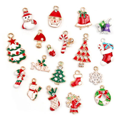 Christmas Hanging Ornaments Pendant Gift Metal Alloy Jewellery Party Bracelet