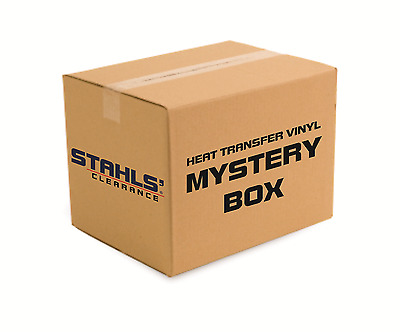 "12"" Stahls' CAD-CUT® MYSTERY Heat Transfer Vinyl - 25 Pieces - Less than 1 Yards"