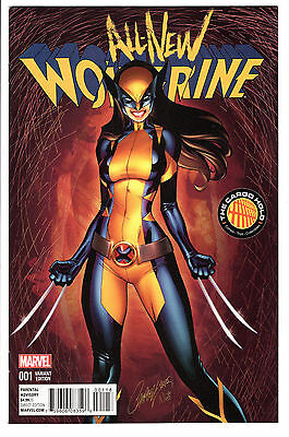 All-New Wolverine #1 J. Scott Campbell Tch Color Variant Vf 8.0 X-23 Hot!