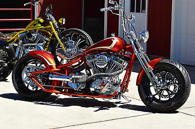 2015 Custom Built Motorcycles Bobber  RODS & RIDES MOTORCYCLE COMPANY DROPSEAT BOBBER SUSPENSION CUSTOM SHOW