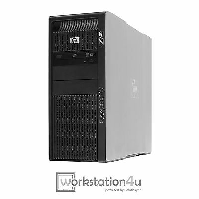 HP Z800 Workstation 2x Xeon E5620 12GB RAM NVIDIA FX3800 300GB HDD (2x 146GB) w7