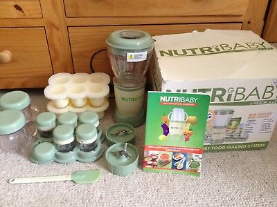 Nutribaby By Magic Bullet The Complete Baby Food Making System Food Blender