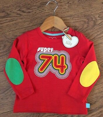 Little Bird Jools Oliver 9-12 Months Super 74 Long Sleeve Top NEW With Tags