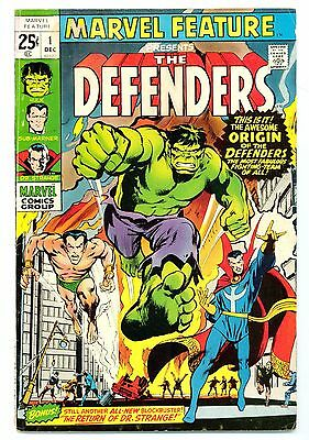 Marvel Feature #1 (1971)  - 1St Appearance Of The Defenders - Gd+/vg-