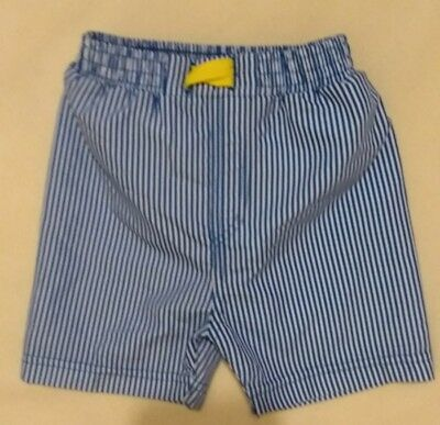 Baby boys swim shorts with integral nappy 9-12 Months from M&S