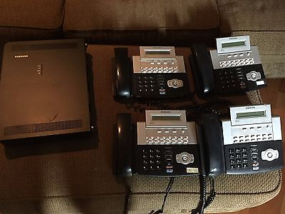 Samsung OfficeServ 7030 with 4 DS-4014D Phones