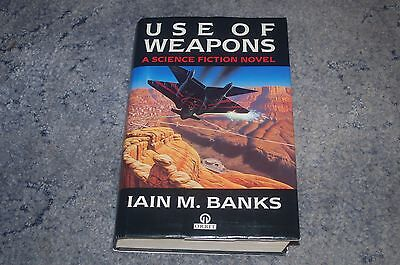 Iain M Banks Use Of Weapons  1St Edition First Printing Hardback Book 1990