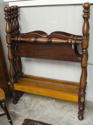 2 Wallace Nutting beds, single size signed w/ Lot 66