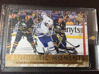 2016/2017 Upper Deck Sp Mitch Marner Authentic Moments Numbered To 99