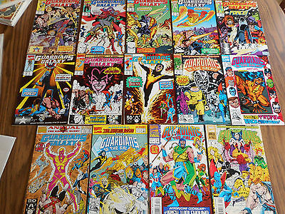 Large Lot of 14 Copper Age Guardians Of The Galaxy - Nice Mid to High Grade GEMS
