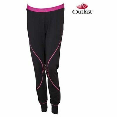 New Yamaha Womens Base Layer Pant With Outlast Medium Md Smw-14Pbs-Bk-Md
