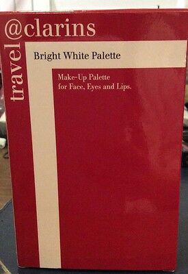 Clarins Bright White Palette - makeup palette for Face, Eyes And Lips