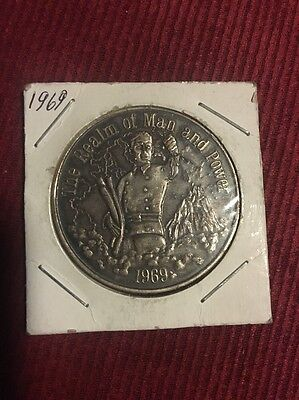 1969 The Realm Of man And Power Medal