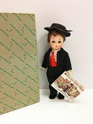 Mint Madame Alexander VINTAGE Spanish Boy Bent Knee Doll with Box & Tag